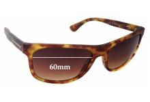Sunglass Fix Sunglass Replacement Lenses for Prada SPR15R - 60mm Wide