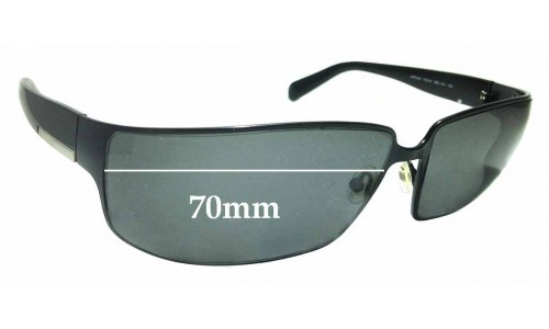 Sunglass Fix Sunglass Replacement Lenses for Prada SPR54F 70mm ** The Sunglass Fix Cannot Provide Lenses For This Model Sorry**