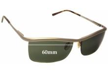 Sunglass Fix Sunglass Replacement Lenses for Prada SPR57C - 60mm Wide