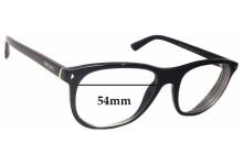 Sunglass Fix Sunglass Replacement Lenses for Prada VPR17R - 54mm Wide