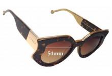 Sunglass Fix Sunglass Replacement Lenses for Preen by Thornton Bregazzi Nottingham - 54mm Wide