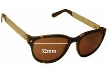 Sunglass Fix Sunglass Replacement Lenses for Proenza Schouler PS 5008 - 52mm Wide