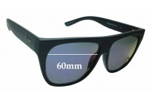 Sunglass Fix Sunglass Replacement Lenses for Quay Australia Drama By Day - 60mm Wide