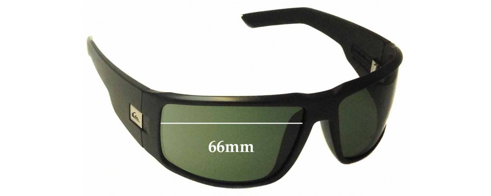 538bbae0c2 Quiksilver The Slab Sunglass Replacement Lenses - 66mm Wide ...