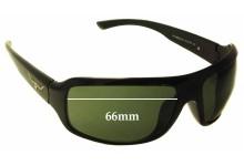 Sunglass Fix Sunglass Replacement Lenses for R.M. Williams Warrego - 66mm Wide