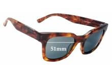 Sunglass Fix Sunglass Replacement Lenses for Raen Myer - 51mm Wide