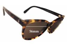 Sunglass Fix Sunglass Replacement Lenses for Ralph Lauren PH 4117 - 56mm Wide