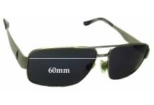 Sunglass Fix Sunglass Replacement Lenses for Ralph Lauren Polo 3054 - 60mm Wide