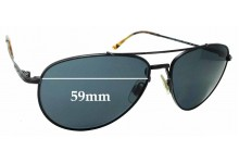 Sunglass Fix Sunglass Replacement Lenses for Ralph Lauren Polo PH 3094 - 59mm Wide