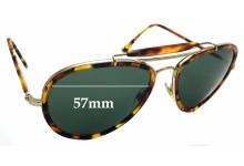 Sunglass Fix Sunglass Replacement Lenses for Ralph Lauren RL 7038-W - 57mm Wide