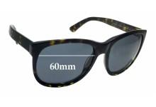 Sunglass Fix Sunglass Replacement Lenses for Ralph Lauren RL 8072-W - 60mm Wide