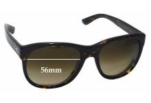 Sunglass Fix Sunglass Replacement Lenses for Ralph Lauren RL 8141 - 56mm Wide