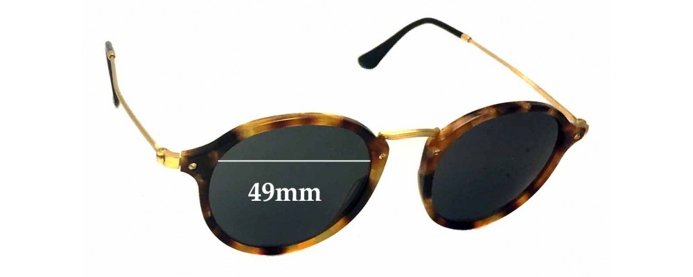 e9762992fc Ray Ban RB2447-V Sunglass Replacement Lenses - 49mm wide