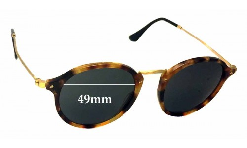 Sunglass Fix Sunglass Replacement Lenses for Ray Ban RB2447-V - 49mm Wide