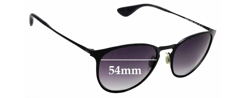 Sunglass Fix Sunglass Replacement Lenses for Ray Ban RB3539 - 54mm Wide