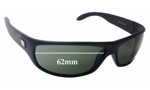 Sunglass Fix Sunglass Replacement Lenses for Ray Ban RB4046 - 62mm Wide