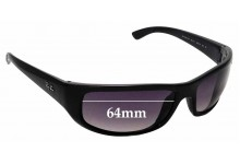 Sunglass Fix Sunglass Replacement Lenses for Ray Ban RB4283 - 64mm Wide