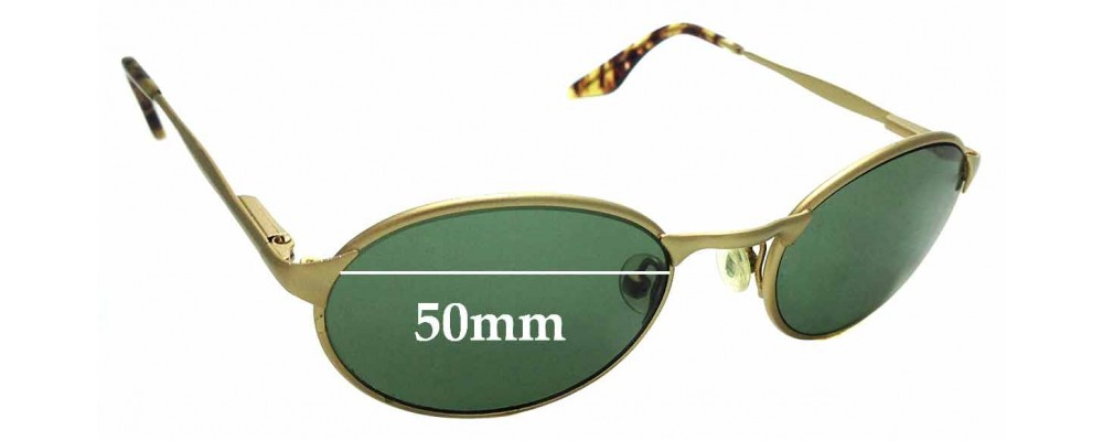 Sunglass Fix Sunglass Replacement Lenses for Ray Ban B&L W2840 - 50mm Wide