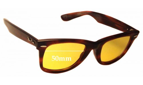 Sunglass Fix Sunglass Replacement Lenses for Ray Ban B&L RB5022 - 50mm wide