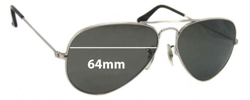 94520e82cb Ray Ban Replacement Sunglasses Lenses 3025