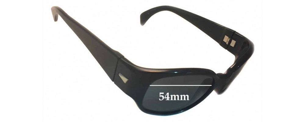 Sunglass Fix Sunglass Replacement Lenses for Ray Ban B&L W2757 - 54mm Wide