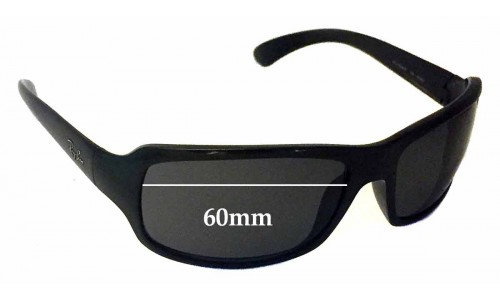 Sunglass Fix Sunglass Replacement Lenses for Ray Ban RAJ1554AA RC001 - 60mm Wide *Please measure your lens as size is not indicated on frames*