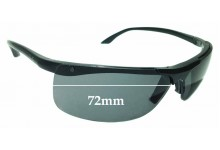 Sunglass Fix Sunglass Replacement Lenses for Ray Ban RB4085 - 72mm Wide