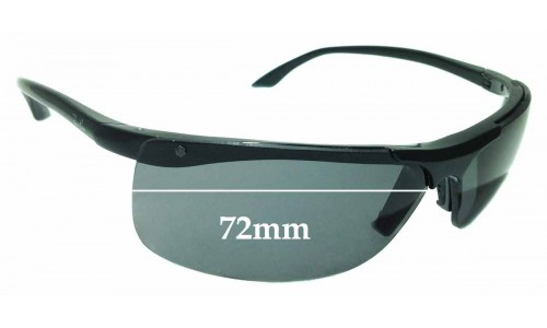 Sunglass Fix Sunglass Replacement Lenses for Ray Ban RB 4085 - 72mm Wide