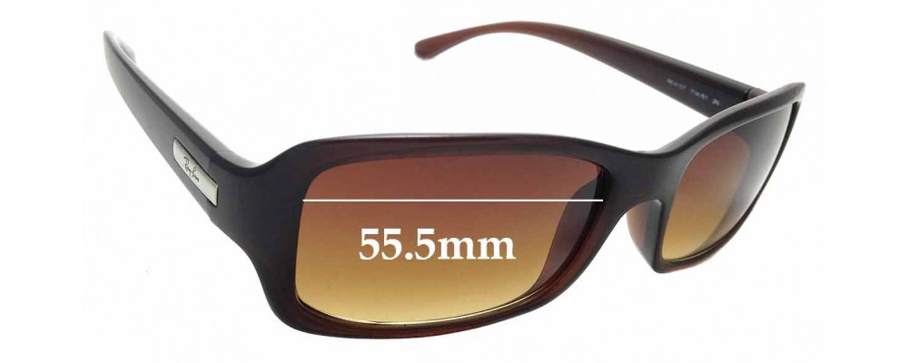 Sunglass Fix Sunglass Replacement Lenses for Ray Ban RB4107 - 55mm Wide