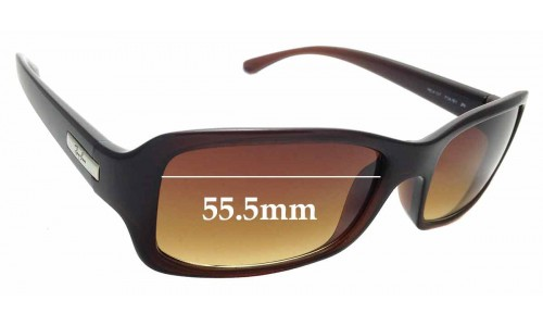 Sunglass Fix Sunglass Replacement Lenses for Ray Ban RB4107 - 55.5mm Wide