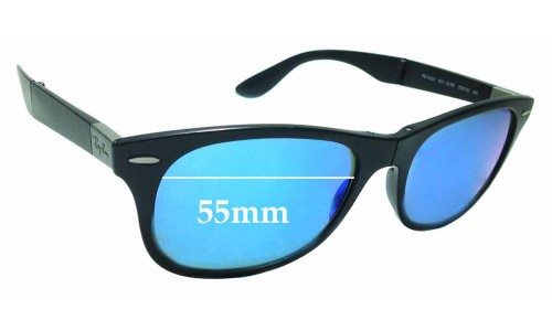 Sunglass Fix Sunglass Replacement Lenses for Ray Ban RB4223 - 55mm Wide