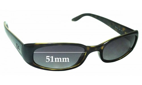 Sunglass Fix Sunglass Replacement Lenses for Ray Ban RB2129 - 51mm Wide