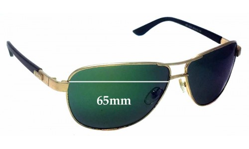 Sunglass Fix Sunglass Replacement Lenses for Ray Ban RB3032 - 65mm Wide
