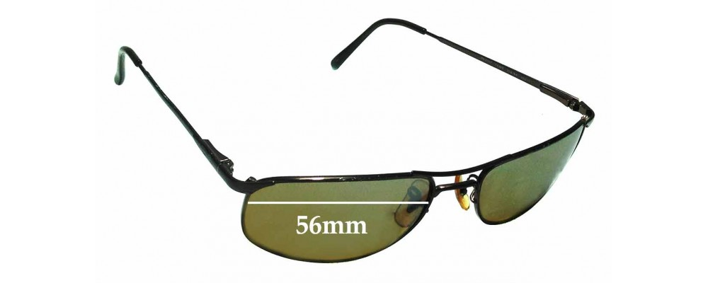 Sunglass Fix Sunglass Replacement Lenses for Ray Ban RB3147 - 56mm Wide