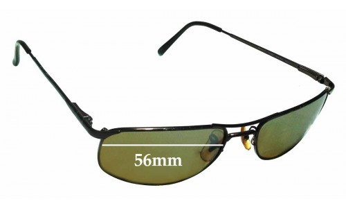 Sunglass Fix Sunglass Replacement Lenses for Ray Ban RB3147 56mm Wide