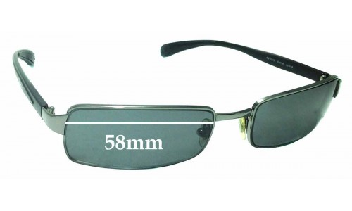 Sunglass Fix Sunglass Replacement Lenses for Ray Ban RB3246 - 58mm Wide