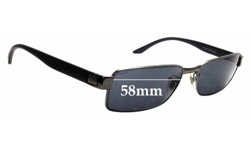 Sunglass Fix Sunglass Replacement Lenses for Ray Ban RB3272 - 58mm wide