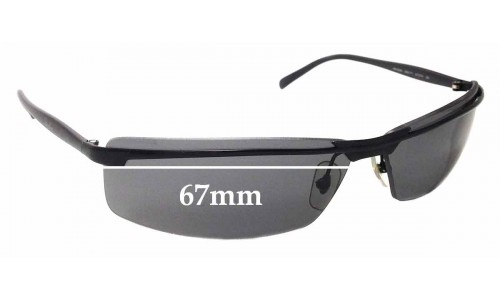 Sunglass Fix Sunglass Replacement Lenses for Ray Ban RB3296 - 67mm Wide