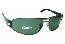 Sunglass Fix Sunglass Replacement Lenses for Ray Ban RB3395 - 62mm Wide