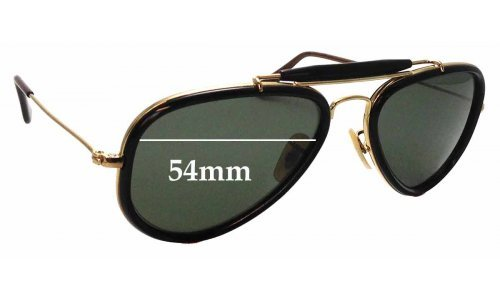 Sunglass Fix Sunglass Replacement Lenses for Ray Ban RB3428 Road Spirit - 54mm Wide