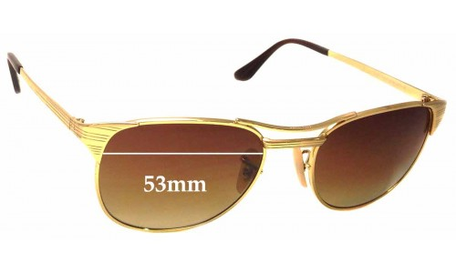 Sunglass Fix Sunglass Replacement Lenses for Ray Ban RB3429 Signet - 53mm Wide