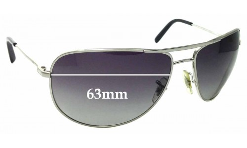 Sunglass Fix Sunglass Replacement Lenses for Ray Ban RB3468E - 63mm Wide