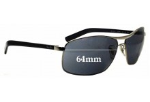 Sunglass Fix Sunglass Replacement Lenses for Ray Ban RB3470-L - 64mm Wide