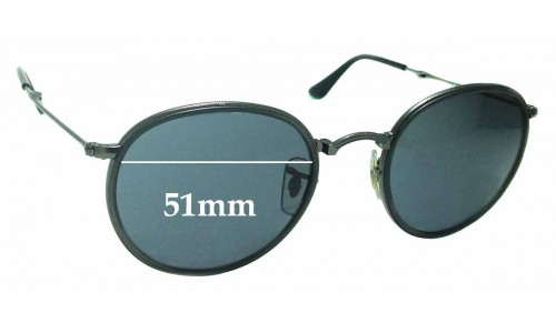 Sunglass Fix Sunglass Replacement Lenses for Ray Ban RB3517 - 51mm wide