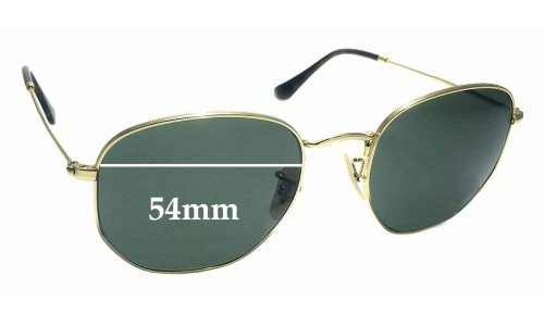 Sunglass Fix Sunglass Replacement Lenses for Ray Ban RB3548-N - 54mm wide