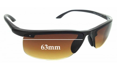 Sunglass Fix Sunglass Replacement Lenses for Ray Ban RB4056 - 63mm wide
