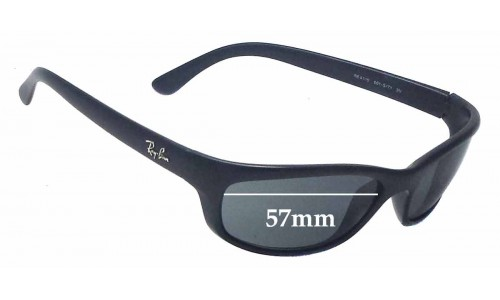 Sunglass Fix Sunglass Replacement Lenses for Ray Ban RB4115 - 57mm wide