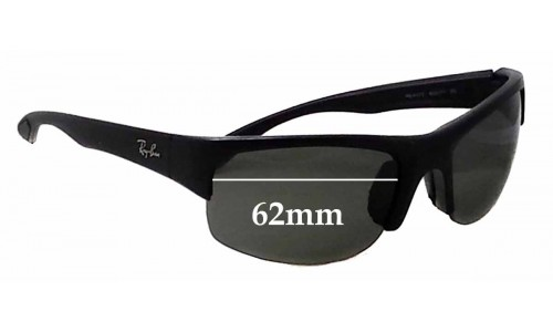 Sunglass Fix Sunglass Replacement Lenses for Ray Ban RB4173 - 62mm Wide