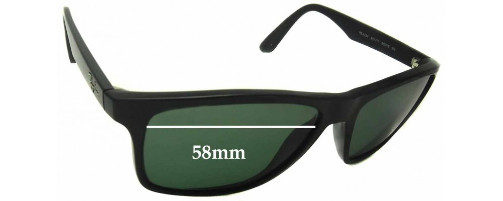 1a11073fa0 Sunglass Fix Sunglass Replacement Lenses for Ray Ban RB4234 - 58mm Wide