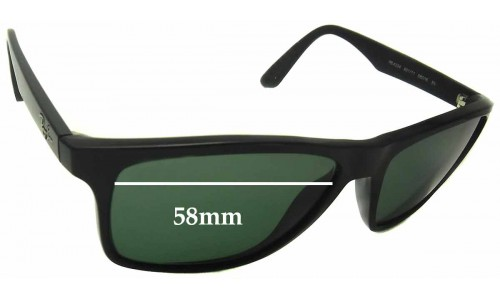 Sunglass Fix Sunglass Replacement Lenses for Ray Ban RB4234 - 58mm Wide